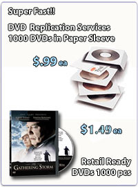 Fast DVD Replication Services